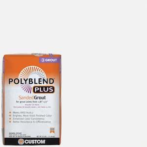 Polyblend Plus #640 Arctic White 25 lb. Sanded Grout