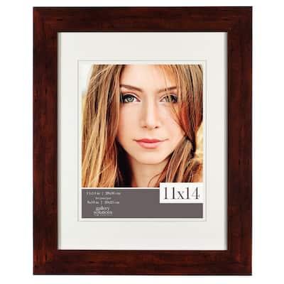 8 in. x 10 in. Walnut Picture Frame