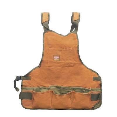 23 in. 16-Pocket Duckwear Super Bib Tool Apron