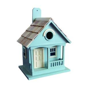 Pacific Grove Birdhouse (Lt. Blue With Yellow)