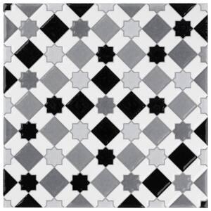 Sevillano Giralda Light Grey 8 in. x 8 in. Ceramic Wall Tile (11.3 sq. ft. / Case)