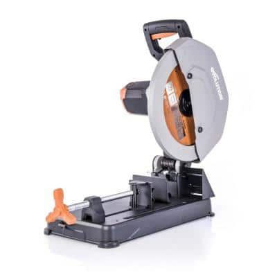 15 Amp 14 in. Chop Saw with V-Block and Multi-Material 32-T Blade