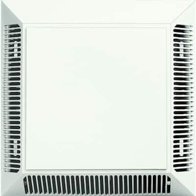 Intake/Exhaust Siding Vent #123-White