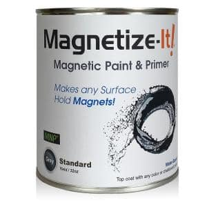 Magnetic Paint & Primer - Standard Yield 32oz