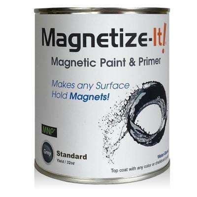 Magnetize-It! Magnetic Paint & Primer - Standard Yield 32oz