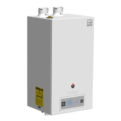 Prestige Solo 110 95% AFUE Condensating Gas Boiler with 86000-99000 BTU and 110000 Input Modulating
