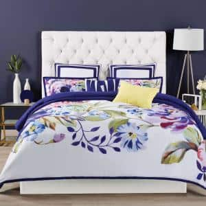Garden Bloom 3-Piece Multiple Queen Comforter Set