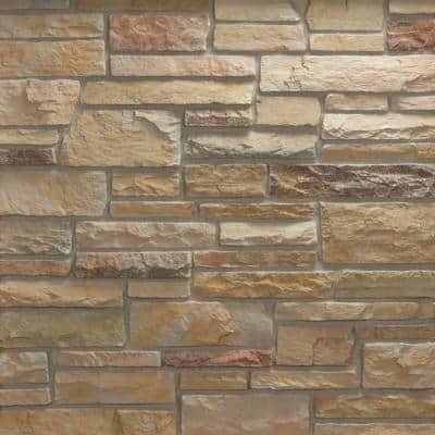 Pacific Ledge Stone Mendocino Flats 10 sq. ft. Handy Pack Manufactured Stone