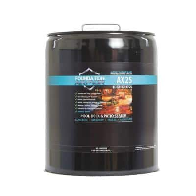 5 gal. Siloxane Infused Solvent Based High Gloss Acrylic Concrete Sealer, Paver Sealer and Pool Deck Sealer