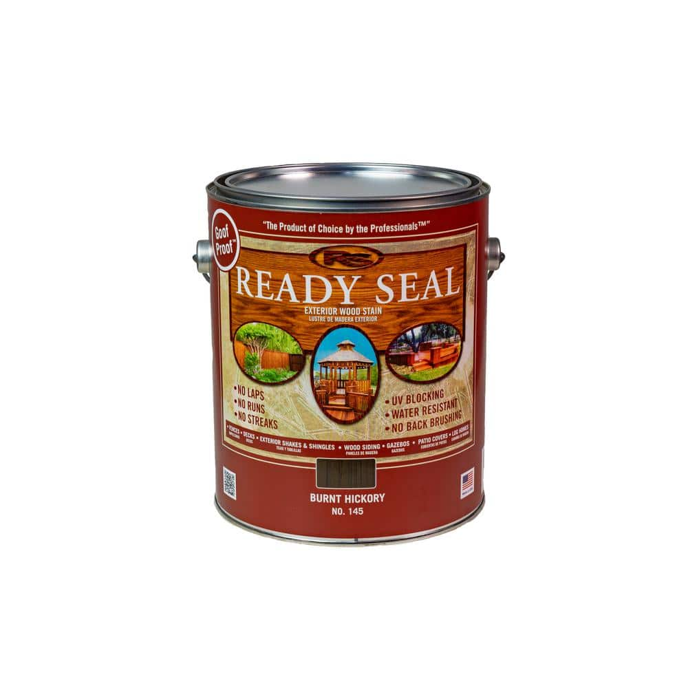 Ready Seal 1 Gal. Burnt Hickory Exterior Wood Stain and Sealer