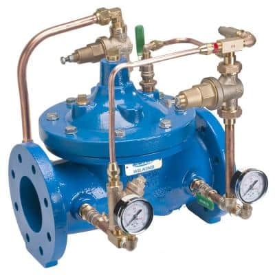 2 in. Bronze Pressure Reducing Valve with Low Flow By-Pass