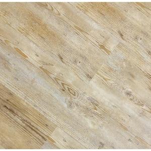 HydroStop Caribbean Beach Floor&Wall 7.2 in. W x 48 in. L Rigid Core SPC Click Floating Vinyl Plank (24.00 sq.ft. /case)