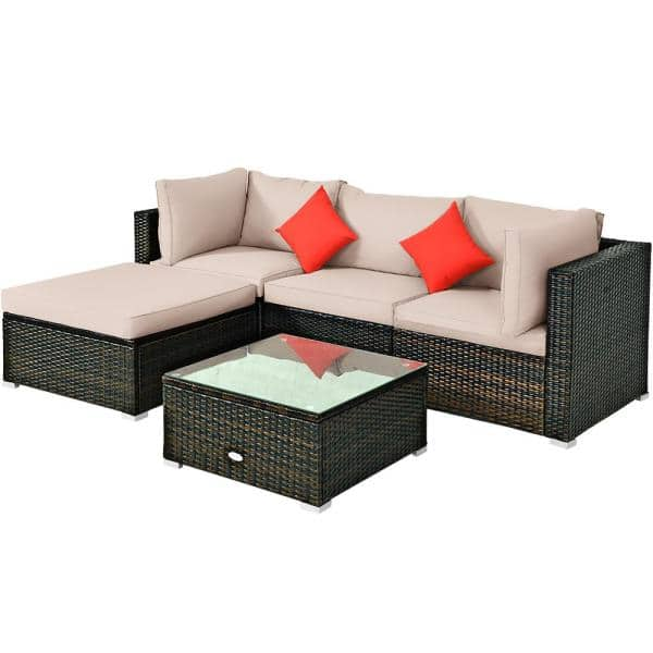 Reviews For Costway Island 5 Piece, Outdoor Furniture Reviews