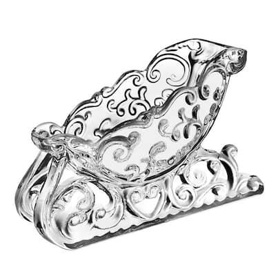 Sleigh Bowl Crystal