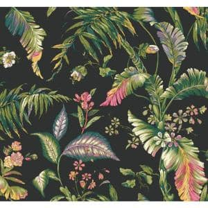 York Wallcoverings Tropics Fiji Garden Paper Strippable Roll Wallpaper Covers 60 75 Sq Ft At7094 The Home Depot