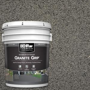5 gal. #GG-18 Mission Olive Decorative Flat Interior/Exterior Concrete Floor Coating