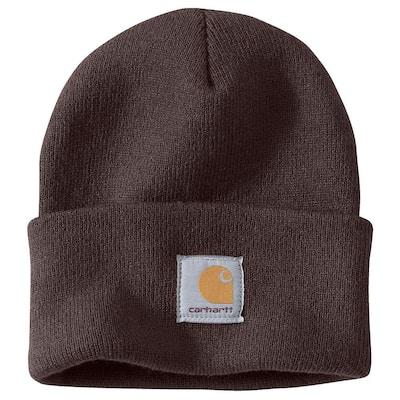 Men's OFA Dark Brown Acrylic Hat Headwear