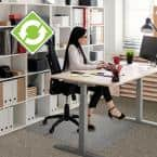 Evolutionmat Clear 30 in. x 48 in. Standard Pile Chair Mat
