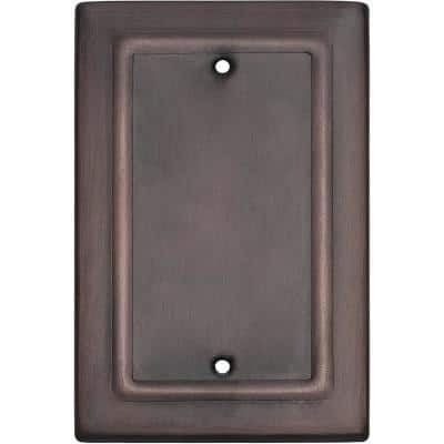 Architectural Antique Copper Blank Wall Plate (1-Pack)