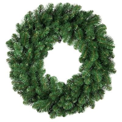 Oregon Fir 48 in. Unlit Artificial Commercial Christmas Wreath