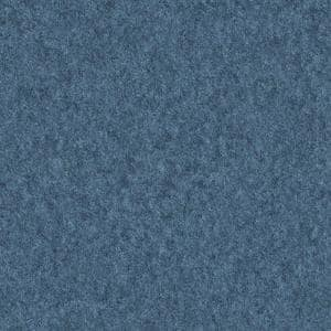 5 ft. x 12 ft. Laminate Sheet in Blue Felt with Matte Finish
