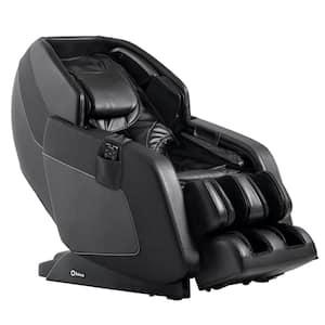 Luxury Series Hubble Black L-Track Massage Chair