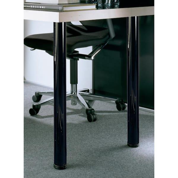Black Steel Table Leg Set, Metal Legs For Furniture Home Depot