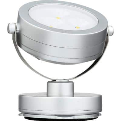 3 in. Grey Under Cabinet Puck Light