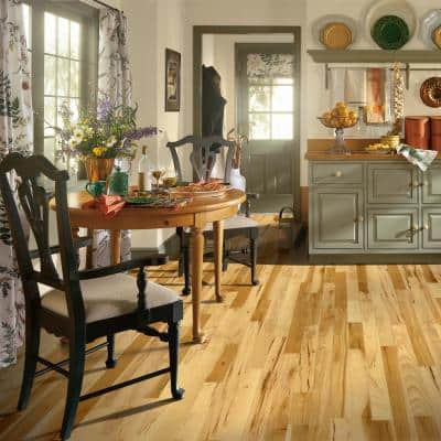 Plano Natural Hickory 3/4 in. Thick x 5 in. Wide x Random Length Solid Hardwood Flooring (23.5 sq. ft. / case)