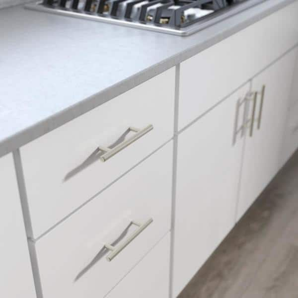 Center To Stainless Steel Bar, Home Depot Kitchen Cabinet Hardware