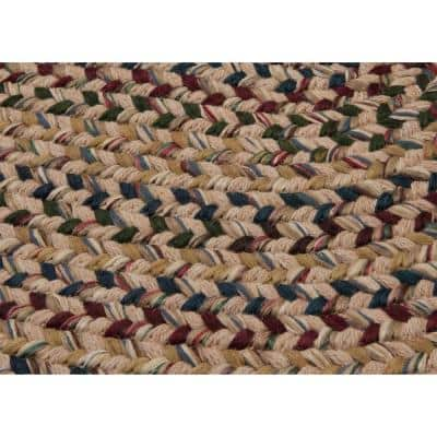 Winchester Natural 8 ft. x 10 ft. Oval Moroccan Area Rug