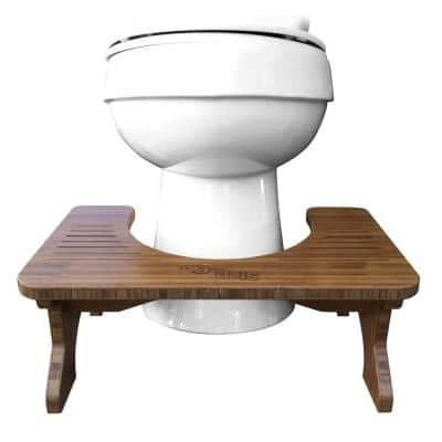 Bamboo Toilet Potty Aid 9 in.