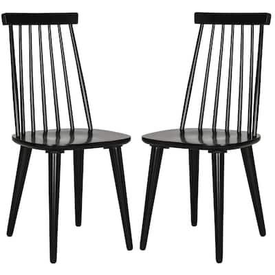 Burris Black Dining Chair (Set of 2)