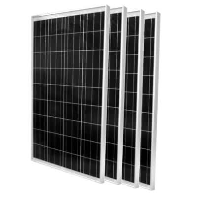 100-Watt Polycrystalline Solar Panel (4-Pack)