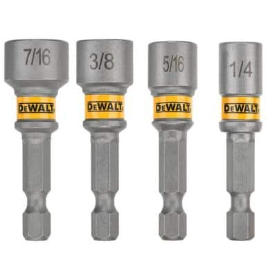 MAXFIT Magnetic 2 in. Nut Driver Set (4-Piece)