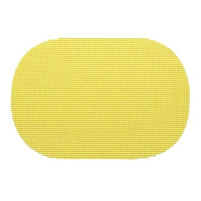 Fishnet Oval Placemat in Lemon (Set of 12)
