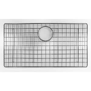 26.77 in. Grid for Kitchen Sinks in Brushed Stainless Steel