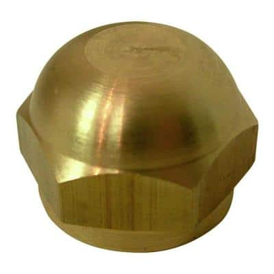 3/8 in. Flare Brass Cap Fitting