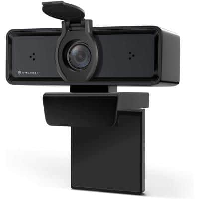 ProStream 1080P Wired WiFi Webcam USB Camera W/ Mic, HD Streaming for PC Desktop & Laptop Wide Angle Lens & Large Sensor