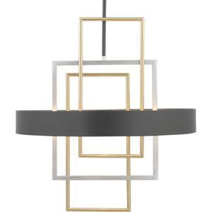 Adagio Collection 6-Light Black Pendant