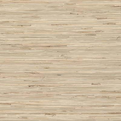 Daria Neutral Grasscloth Peelable Wallpaper (Covers 72 sq. ft.)
