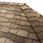 Timbertex Cedarwood Abbey Double-Layer Hip and Ridge Cap Roofing Shingles (20 lin. ft. per Bundle) (30-pieces)