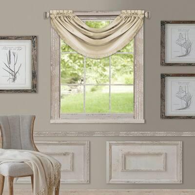 Versailles Faux Silk Blackout Window Valance