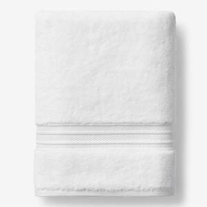Cotton TENCEL Lyocell White Solid Bath Sheet