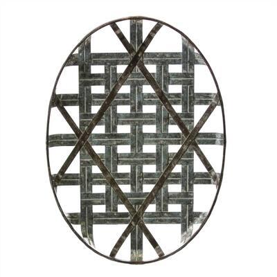 Oval Tobacco Basket Wall Decor