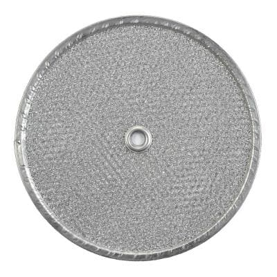 9.5 in. Round Aluminum Replacement Filter for Exhaust Fans