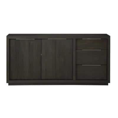Oxford Basalt Grey Sideboard with Media Console Function