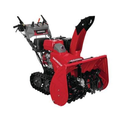 32 in. Hydrostatic Track Drive Two-Stage Gas Snow Blower with Electric Joystick Chute Control