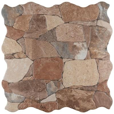Attica Caldera 16-7/8 in. x 16-7/8 in. Ceramic Floor and Wall Tile (14.15 sq. ft. / case)