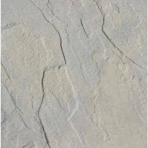 Patio-on-a-Pallet 12 in. x 12 in. x 1.5 in. Gray Variegated Traditional York-Stone Concrete Paver (Pallet of 100-Pieces)